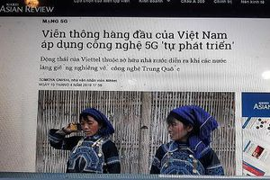Nikkei Asian Review rút thông tin sai về mạng 4G của Viettel