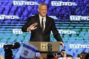 Tổng tuyển cử Israel: Lãnh đạo đảng Xanh-Trắng thừa nhận thất bại