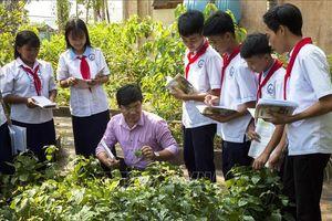 Xây dựng trường học thân thiện cho con em đồng bào Khmer