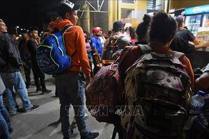 143 người di cư Honduras bị bắt cóc ở Mexico