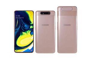 Samsung Galaxy A80: Camera xoay 180 độ, chip S730, RAM 8 GB, giá gần 17 triệu