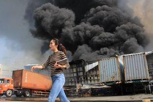 Bình Dương: Cháy lớn tại Khu Công nghiệp Sóng Thần 2, công nhân tháo chạy