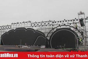 Cơ bản hoàn tất công tác chuẩn bị khai mạc Lễ hội du lịch biển Sầm Sơn