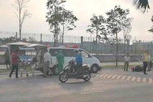 Tai nạn vì vấp gờ giảm tốc