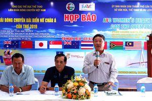 21 đội tham gia giải Bóng chuyền bãi biển nữ châu Á năm 2019 tại Cần Thơ