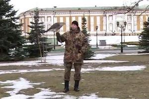 Huấn luyện chim săn mồi làm tuần tra tại Điện Kremlin