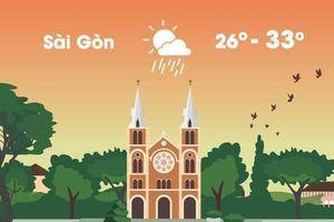 Thời tiết ngày 12/4: Hà Nội, Sài Gòn xuất hiện mưa rào