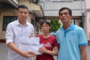 Ủng hộ 300 triệu đồng cho nạn nhân vụ Mercedes GLA tông liên hoàn
