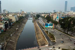 Chuyên gia Nhật Bản hứa hẹn đem đến công nghệ làm sạch sông Tô Lịch