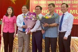 HĐND quận Cầu Giấy có Phó Chủ tịch mới
