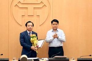 Trao quyết định bổ nhiệm Giám đốc Sở Quy hoạch Kiến trúc Hà Nội