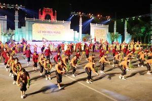 Lung linh sắc mầu văn hóa tại Lễ hội Đền Hùng