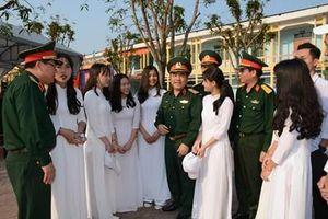 Thu hút thí sinh có lực học tốt vào các trường quân đội