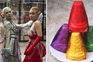 Cười lộn ruột ảnh chế 'yêu tinh' hết hồn tại Tuần lễ thời trang Quốc tế