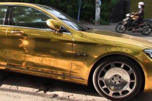Chiếc ô tô 'mạ vàng' được Phúc XO thuê gần 1 triệu đồng/ngày để di chuyển