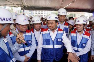 Thủ tướng thị sát công trường metro Bến Thành - Suối Tiên