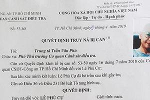 Vụ án hiếp dâm xảy ra ở quận 7, TP HCM: Truy nã bị can Lê Phú Cự