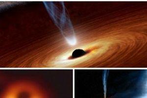 Sự thật về vòng tròn màu đen ở trung tâm của hố đen
