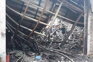 Cả gia đình 4 người tử vong trong vụ cháy nhà xưởng tại Hà Nội