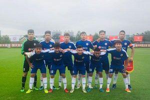 U17 Hà Nội để thua đáng tiếc trước đại diện của Trung Quốc