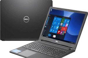 Bảng giá laptop Dell tháng 4/2019: Không có biến động