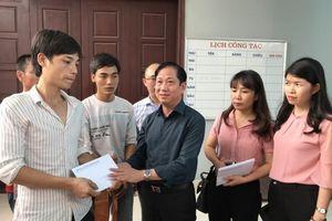 Thăm hỏi, hỗ trợ gia đình nạn nhân trong vụ cháy tại Trung Văn, Nam Từ Liêm