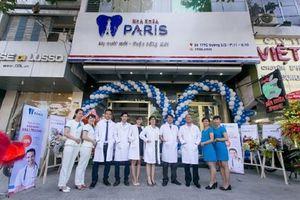 Hệ thống Nha khoa Paris tư vấn, quảng cáo thực hiện dịch vụ không phép?