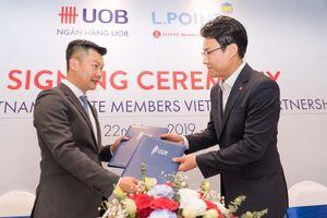 UOB và Lotte Việt Nam phát hành thẻ ATM đồng thương hiệu