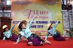Nhân dân 5 nước cùng vui Tết cổ truyền Campuchia - Lào - Myanmar - Thái Lan