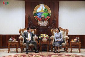 Chúc mừng Lãnh đạo Đảng-Nhà nước Lào nhân dịp Tết cổ truyền Bunpimay