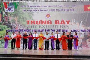 Phú Thọ- khai mạc triển lãm ảnh Việt Nam-Hàn Quốc