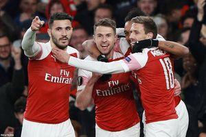 Tứ kết Europa League: Arsenal chiếm ưu thế, Chelsea thắng vất vả