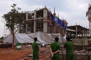Điều tra vụ sập giàn giáo công trình xây dựng khiến 8 người bị thương