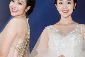 Tái xuất sau tai nạn, MC Thùy Linh diện váy mỏng như sương gợi cảm