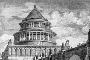Số phận lạ lùng của lăng mộ hoàng đế nổi tiếng La Mã