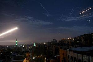 Syria tuyên bố đánh chặn một số tên lửa không kích trong đêm của Israel