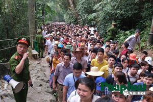Hàng vạn du khách đi lễ Đền Hùng trước ngày khai hội
