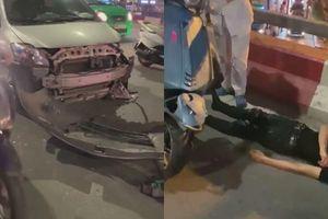 Hà Nội: Thêm một nữ tài xế gây tai nạn liên hoàn
