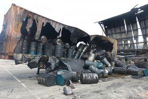 Bốn doanh nghiệp thiệt hại nặng trong vụ cháy tại Bình Dương