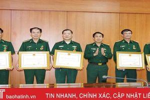 Trao Huân chương Bảo vệ Tổ quốc cho 12 CBCS Biên phòng Hà Tĩnh