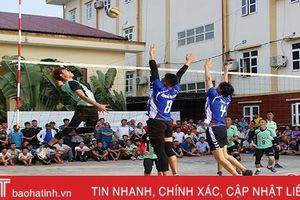 Thạch Bình nhất Giải Bóng chuyền nam TP Hà Tĩnh