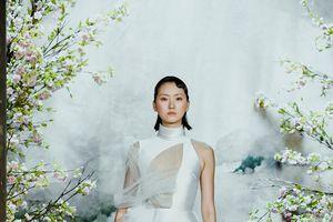 Dàn mẫu Tây xinh như mộng hóa nàng tiên, lả lướt kiêu sa trình diễn váy cưới