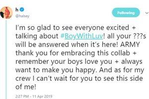 Trước 'đại thành công' của 'Boy With Luv'(BTS ft. Halsey): Người trong cuộc nói gì?