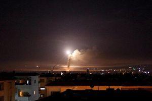 Syria tuyên bố đánh chặn tên lửa Israel tấn công căn cứ quân sự Hama