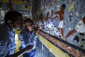 Hé lộ những hình ảnh gây sửng sốt trong mộ cổ Ai Cập 4.300 năm tuổi