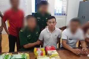 Bắt vụ vận chuyển 26,6 kg ma túy từ Campuchia về Việt Nam