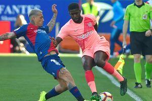 Giữ sức chờ cuộc tái đấu với M.U, Barcelona bị đội cuối bảng cầm hòa