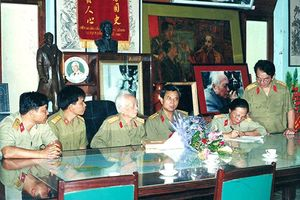 Bộ sưu tập khắc họa hình ảnh những vị tướng Quân đội