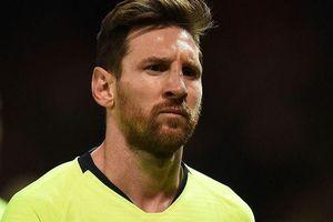 Cất Messi, Barcelona hòa sốc đội cuối bảng La Liga