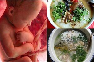 6 món cháo KHOÁI KHẨU của thai nhi, mẹ bầu ăn vào con sinh ra nặng ít nhất 3,2 kg